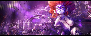 Evelynn signature by PwNeon