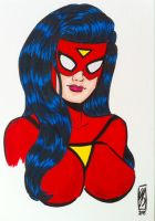 Spider-Woman by seanpatrick76