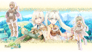 Rune Factory 4 - Lest and Frey Wallpaper by rubypearl31