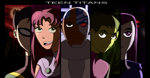 Titans Together by Skidzz