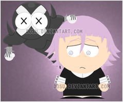 Crona -Soul Eater- South Park by Dosu