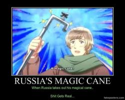 Russia's Magic cane.. by hetaliagirl101