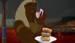 Ramses likes doughnuts.. by Lord-Imhotep