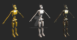 Multi-purpose droid character for Unity by Berandas