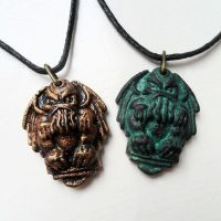 Cthulhu Necklaces by CthulhuJewellery