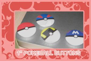 Pokeball Buttons by quazo