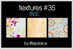TEXTURES 35: MISC by lifeisdolce