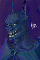 Demon Batman by Archonyto