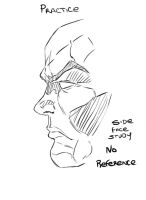 Sketch Side Face by assassin-10