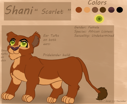 Shani 2015 Reference by Fawnadeer