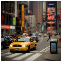 NYC Taxi II by billysphoto