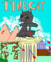 time cat cover by JashinistX