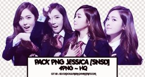 Pack png #8 : 4 png Jessica~SNSD by UdsonDollySarah