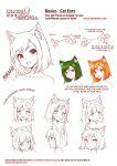Learn Manga Basics Cat Ears by Naschi