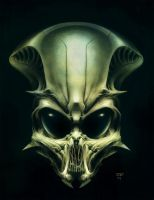 UFO head by hunterkiller