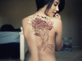 Tree Tattoo by Kairy-Ma