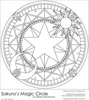Sakura's Magic Circle by OliveBranchMLP