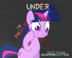 [W/O Vocals] Under Pressure of Time (Cover Art) by KirbyFluttershy