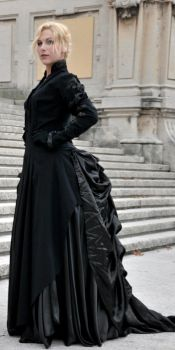 Victorian Gown - Tecnical Shot by TheLily-AmongThorns