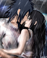 Madara x Haruko (myOC) - Get wet together... by Lesya7