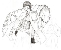 Soul reaper OC -update 1- by Kross1794