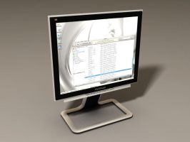 ViewSonic LCD Monitor by gone-mad