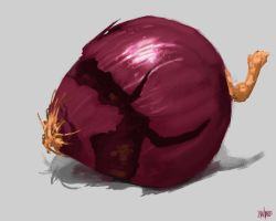 Onion Speedpaint Study 40 Minutes by FaceGrater