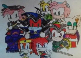 Castlevania Legacy of Darkness: Sonic Style by SweetGems