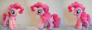Extra poofy Pinkie Pie plush by Cow-In-A-Keyhole