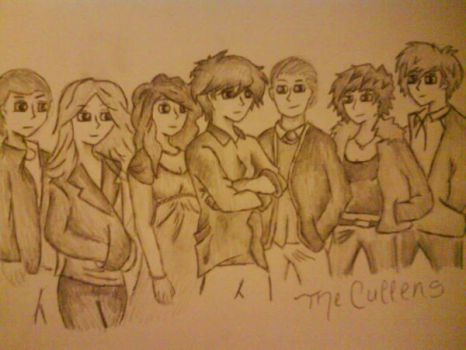 the cullens - twilight by moviegirl55