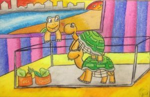 Turtles by souleaterartist