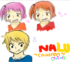 NaLu Children [Twins] by Sakurabliss7