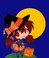 Trick or Treat Colored by Maiko-Girl