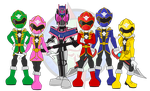 Rider and Sentai by Dragon-FangX