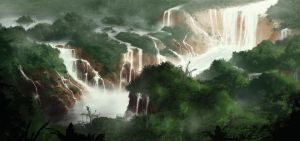 Rain forest by E-sketches