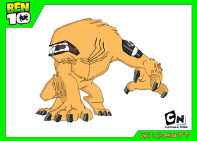 Wildmutt - Ben 10 by Bentenny10