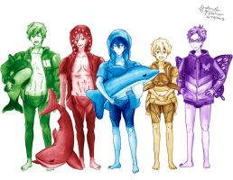 Free! ~image animals~ by iBluePanda