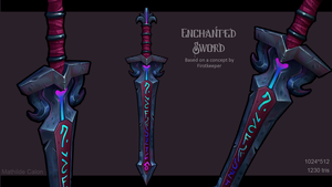 ENCHANTED SWORD by P3rz1k