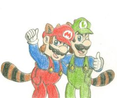 SUPER MARIO BROTHERS by RedBlueIsCool