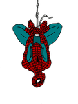 Spiderman Upside Down by camdencc