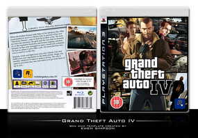 Grand Theft Auto IV by ewensimpson