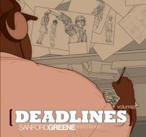 Deadlines Vol2 sketchbook by greenestreet