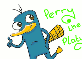 Perry the Platypus Animation. by Pinky1babe