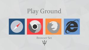 Play Ground: Browser Icons by SomeElixer