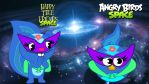 angry birds happy tree friends Space Petunia by fanvideogames