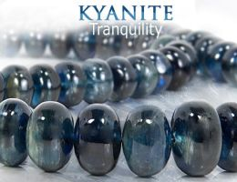 Tranquility of Kyanite by BeadsofCambay