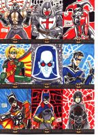 Batman: The Legend Sketch Cards 6 by OptimusPraino