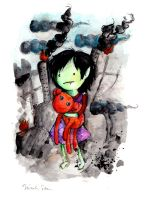Marceline as a Child by drawingsbynicole