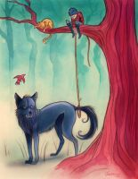 Peter And The Wolf by nicholasjackson