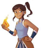 Korra by courtneygodbey